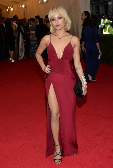 Zoe Kravitz Gala MET 2014 peor vestidas