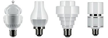 Alessilux, bombillas LED de Alessi y Foreverlamp