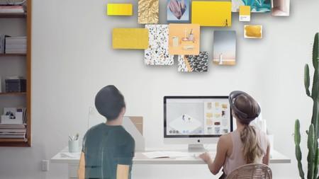 Spatial: trabaja a distancia al estilo 'Minority Report' gracias a la realidad aumentada