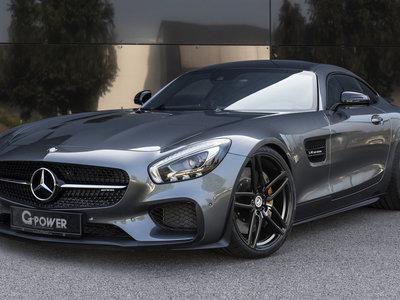 G-Power lleva el V8 del Mercedes-AMG GT hasta los 615 CV