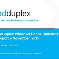 Windows 10 para móviles ya está presente en el 7% de los smartphones