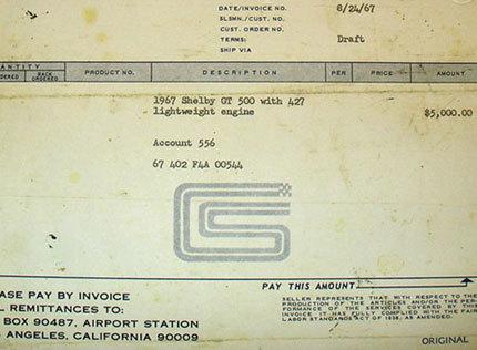 1967 mustang shelby cobra gt500