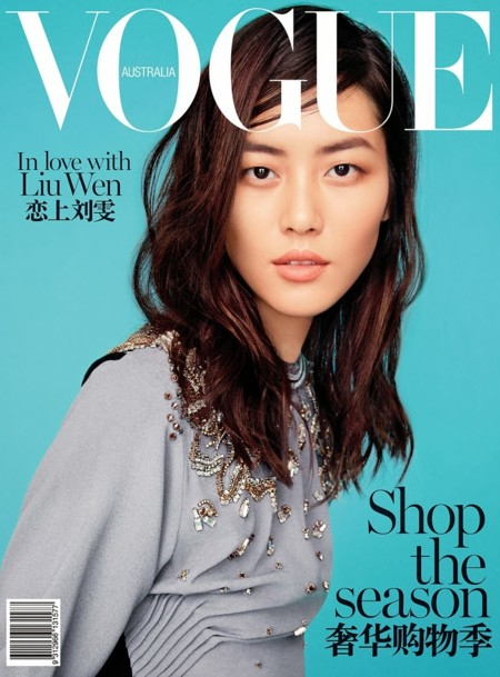 Liu Wen Vogue Australia March 2014