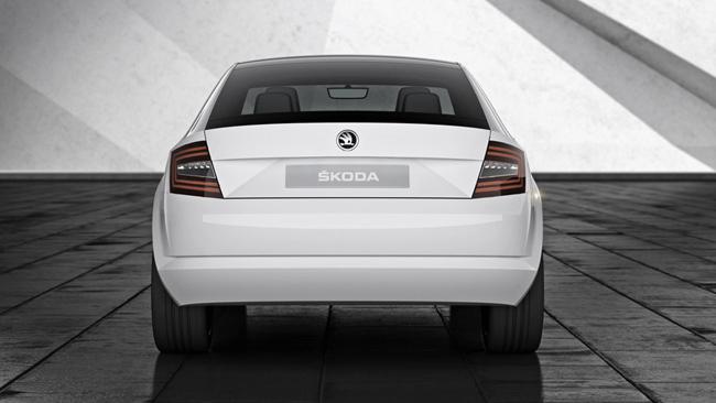 Foto de Nueva imagen corporativa y concept de Skoda (5/7)