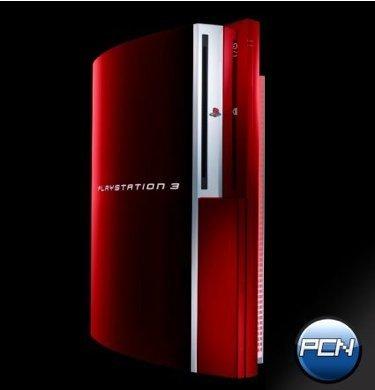 Llega la PlayStation 3 roja
