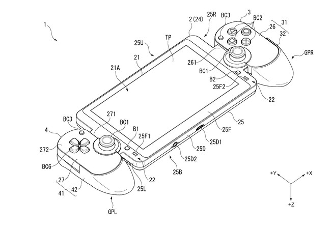 Sony Patente Portatil Nintendo Switch 01