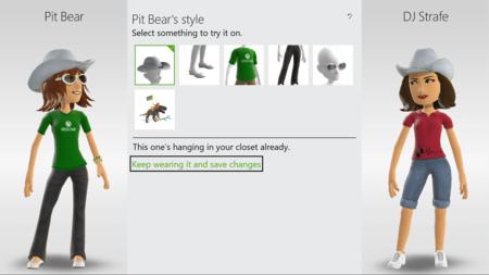 Xbox Comparacion Avatares