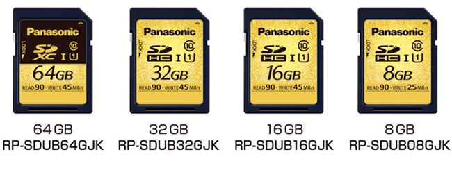 Tarjetas SD Panasonic