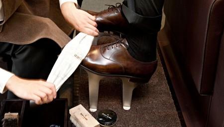 limpieza de zapatos
