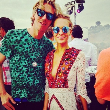 Poppy Delevingne James Cook