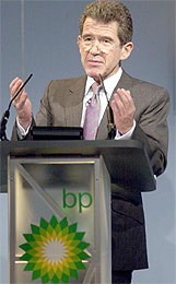 John Browne de British Petroleum se va un año antes