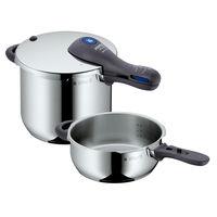 El set de ollas rápidas a presión WMF Perfect Plus de 6,5  y 3 litros está rebajado a 109,99 euros en eBay