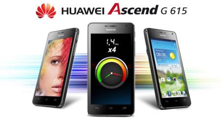 Huawei Ascend G615, cuatro núcleos y resolución HD por 300 euros