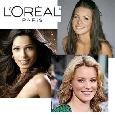 Evangeline, Elizabeth y Freida, las nuevas embajadoras de L'Oreal