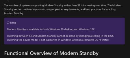 Modern Standby