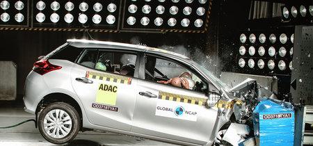 Global NCAP deja con tres estrellas al Toyota Yaris en su última evaluación