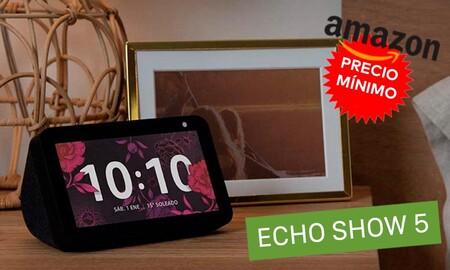 Comienza las ofertas de Black Friday haciéndote con el Echo Show de Amazon de nuevo a precio mínimo: lo tienes por sólo 44,99 euros