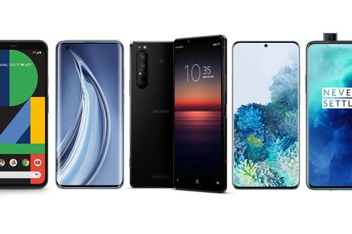 Sony Xperia 1 II y Realme X50 Pro 5G contra Xiaomi Mi 10 Pro, Samsung Galaxy S20+, OnePlus 7T Pro y resto de gama alta Android