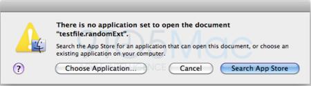 La Mac App Store servirá para identificar extensiones de archivo desconocidas