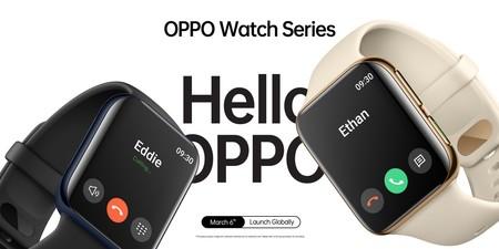 OPPO anuncia su propio Apple Watch casi cinco años después del lanzamiento original