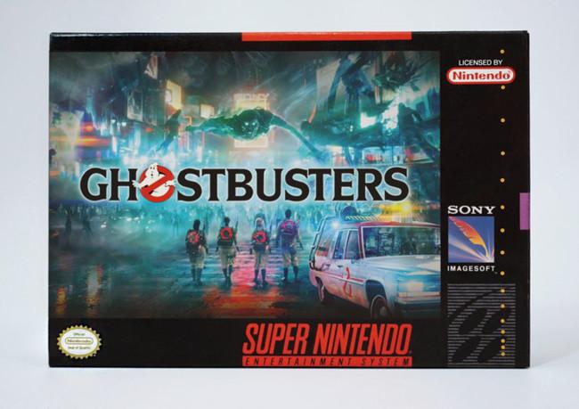 Snes Ghostbusters