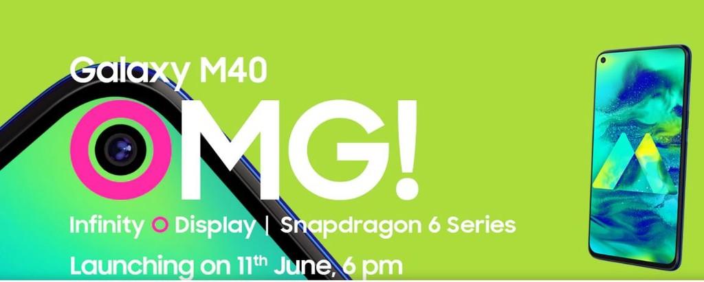 Samsung presentará el Galaxy™ M40 el once de junio: esto es lo que comprendemos de él