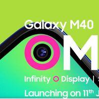 Samsung presentará el Galaxy M40 el 11 de junio: esto es lo que sabemos de él