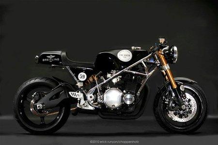 Toda moto tiene una historia: Alan Bernard y la café racer que construyó