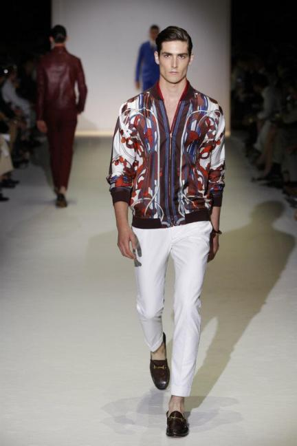 Gucci Primavera-Verano 2013, en la Semana de la Moda Masculina de Milán