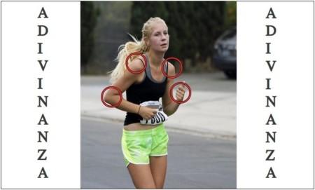 Solución a la adivinanza: los errores del corredor se encuentran en sus brazos, manos, espalda y hombros