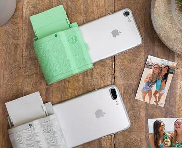 ¿Imprimir fotos al momento desde nuestro iPhone? Sí, con esta carcasa es posible