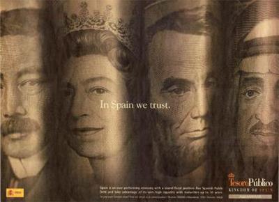 Campaña publicitaria de la deuda pública española