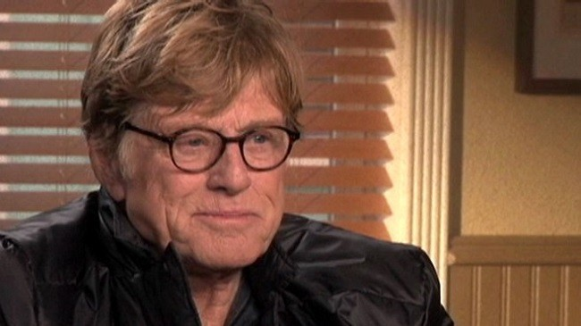 El actor Robert Redford