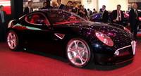 Alfa Romeo 8C Competizione en el Salón de Ginebra