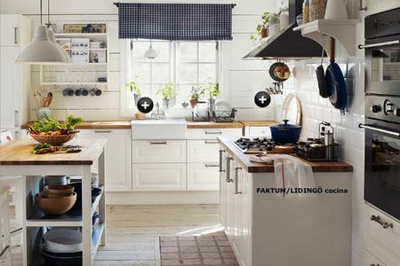 El equivalente en Ikea de la cocina que me inspiró