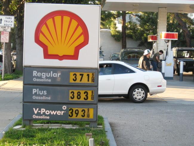 Precios de la gasolina en Palo Alto (CA) el 28 de febrero de 2008