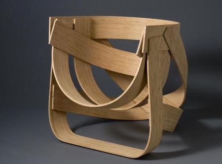 Bamboo Chair, diseñada por Tejo Remy