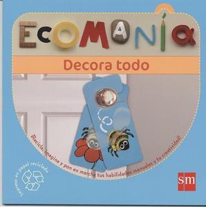 Ecomanía, una serie de libros de manualidades de reciclaje