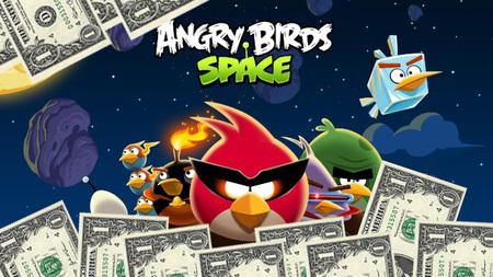 'Angry Birds Space': nueva actualización y nuevos niveles con Fry me to the Moon