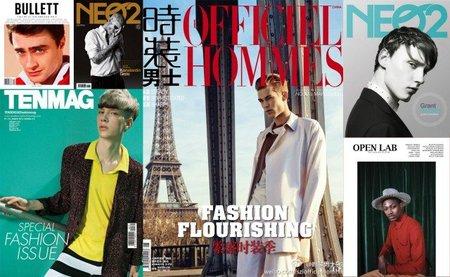 Abrimos el kiosko de Primavera 2012, repasando las mejores portadas de moda y estilo masculino (I)