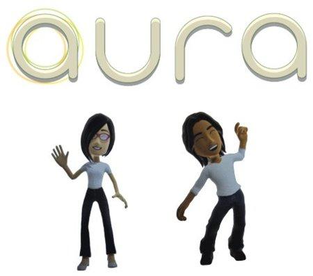 Aura Project, los avatares de Microsoft en una aplicación social, integrando Twitter y Facebook