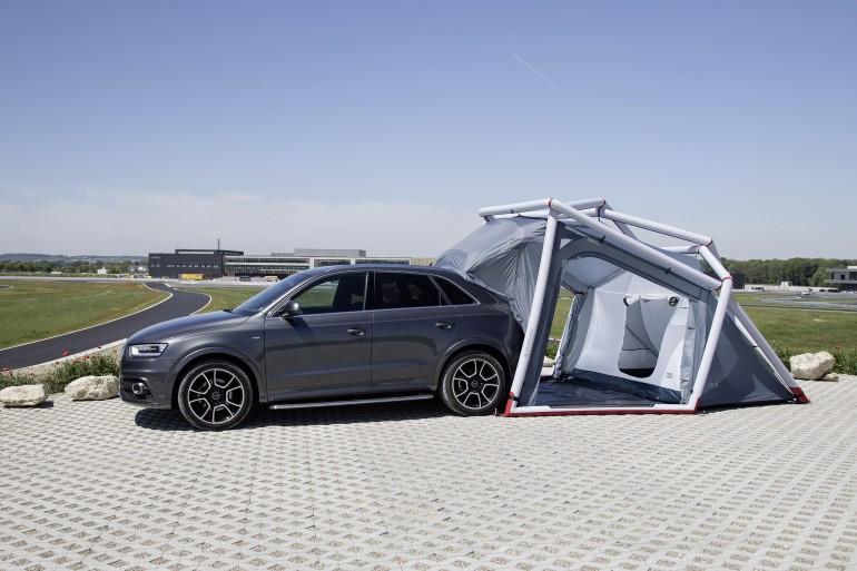 Foto de Tienda de campaña para Audi Q3 (1/12)