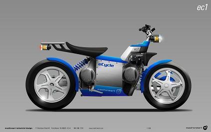 eCycle moto híbrida
