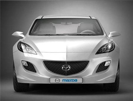 2010 Mazda 3 Concept, filtradas las primeras imágenes oficiales