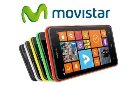 Precios Nokia Lumia 625 con Movistar