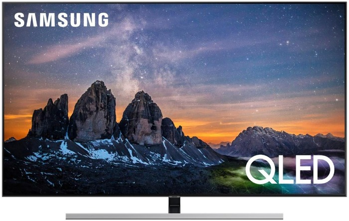 "Televisor QLED Samsung 55"" QE55Q80R - UHD 4K, IA, Smart TV Bixby, HDR10+, 3700PQI, Direct Full Array"