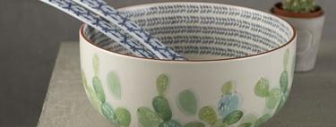 Siete ensaladas originales y saciantes y siete preciosas ensaladeras para presentarlas de manera elegante