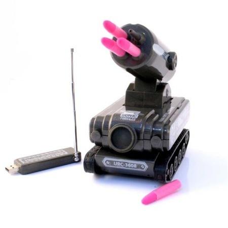Misiles tierra-jefe desde un tanque