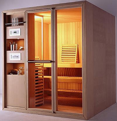 Sauna Effecgibi, relajación con todo ordenado