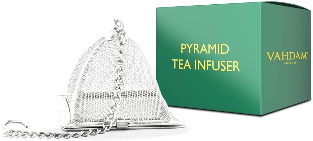 Infusionador de té piramidal VAHDAM